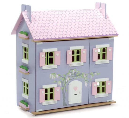 Lavender dolls house